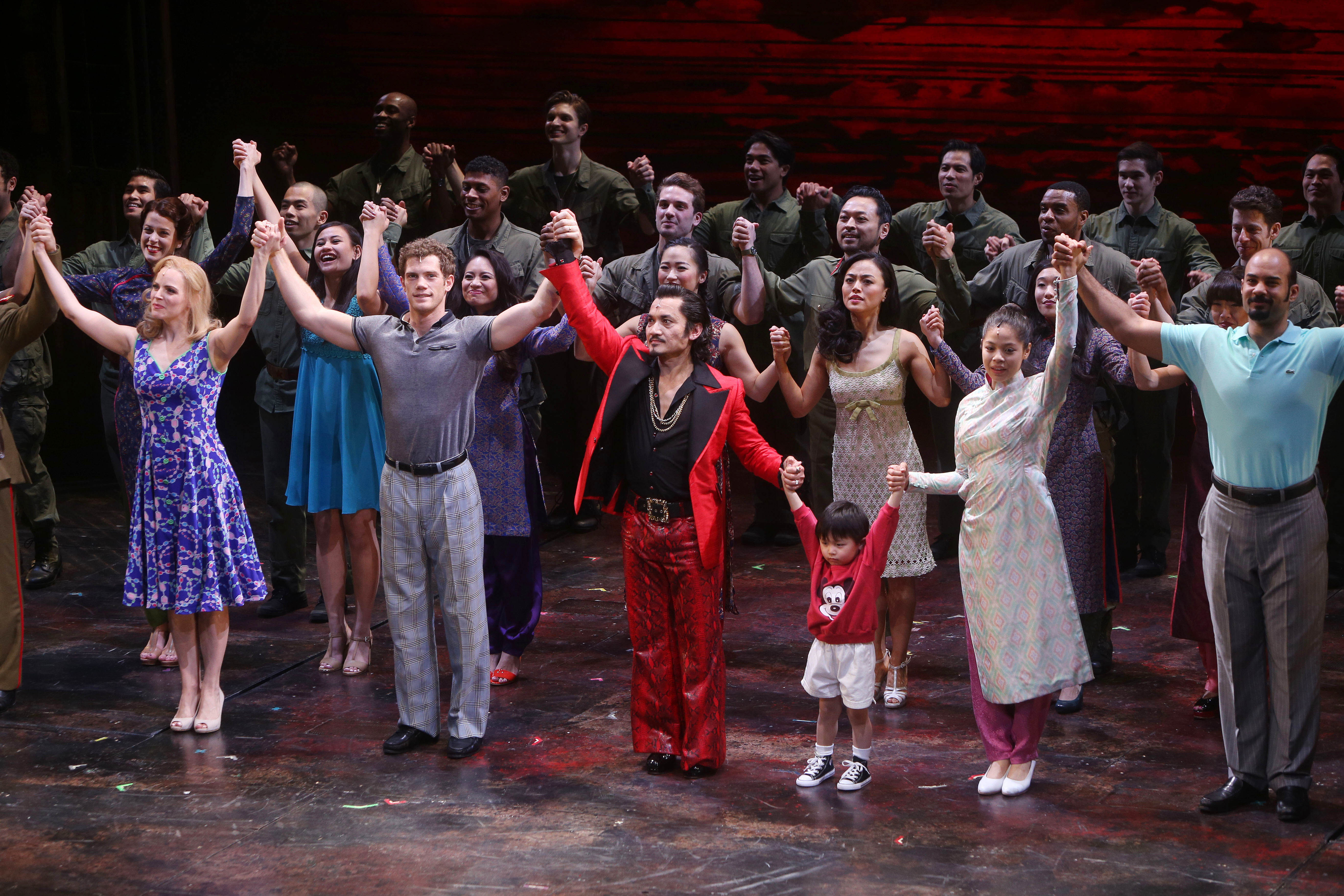 Broadway Cast Of Miss Saigon Sings To Support National Asian Artists Project August 6 Playbill