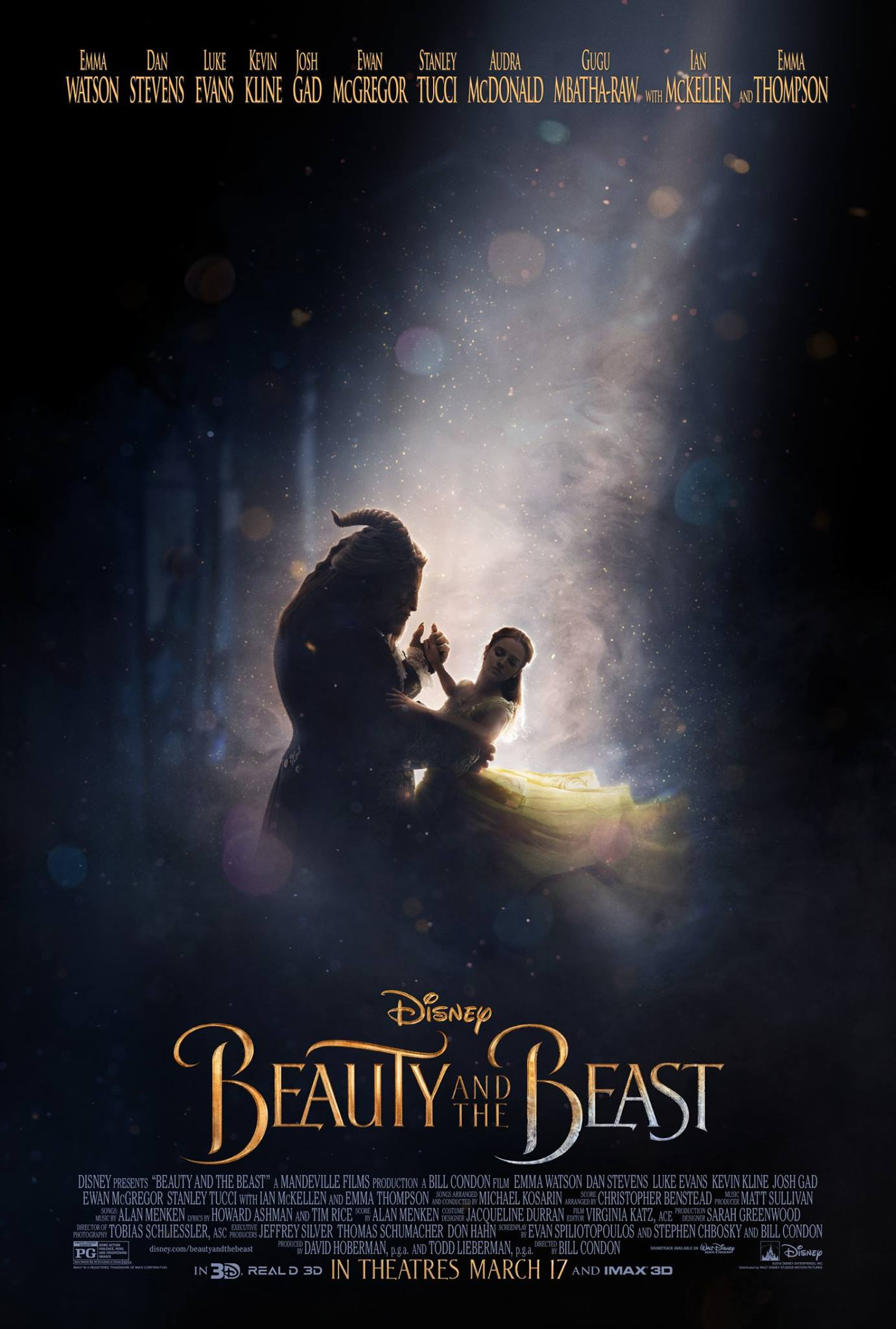 See The New Poster For Disney S Live Action Beauty And The Beast Playbill
