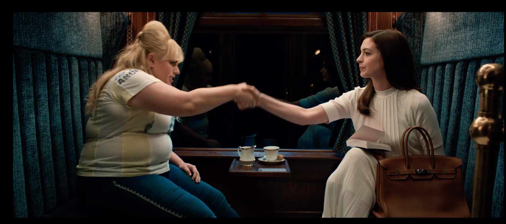 Watch The New Trailer For The Hustle Starring Anne Hathaway And Rebel Wilson Playbill