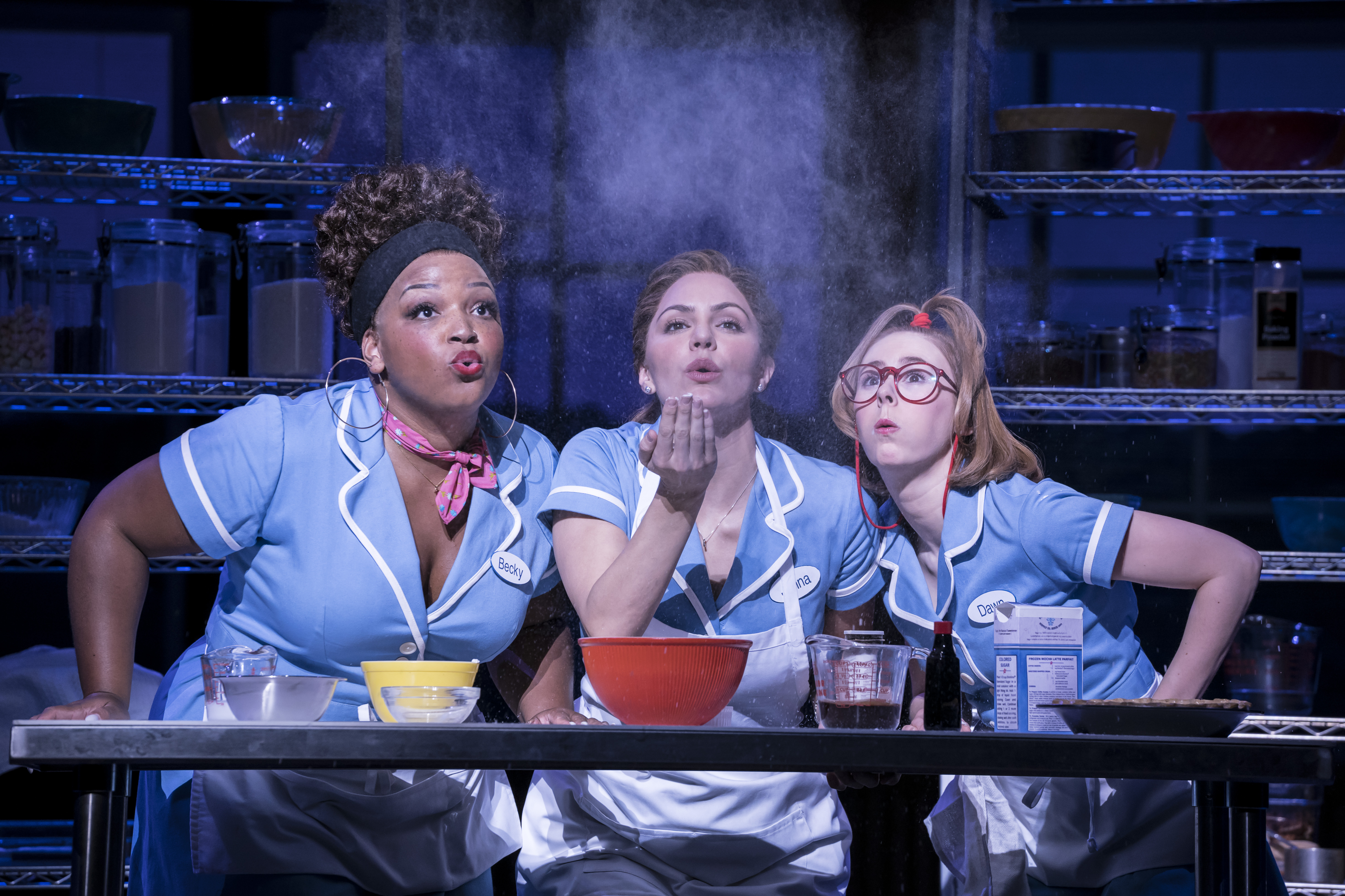 London S Waitress With Katharine Mcphee And Jack Mcbrayer Opens March 7 Playbill