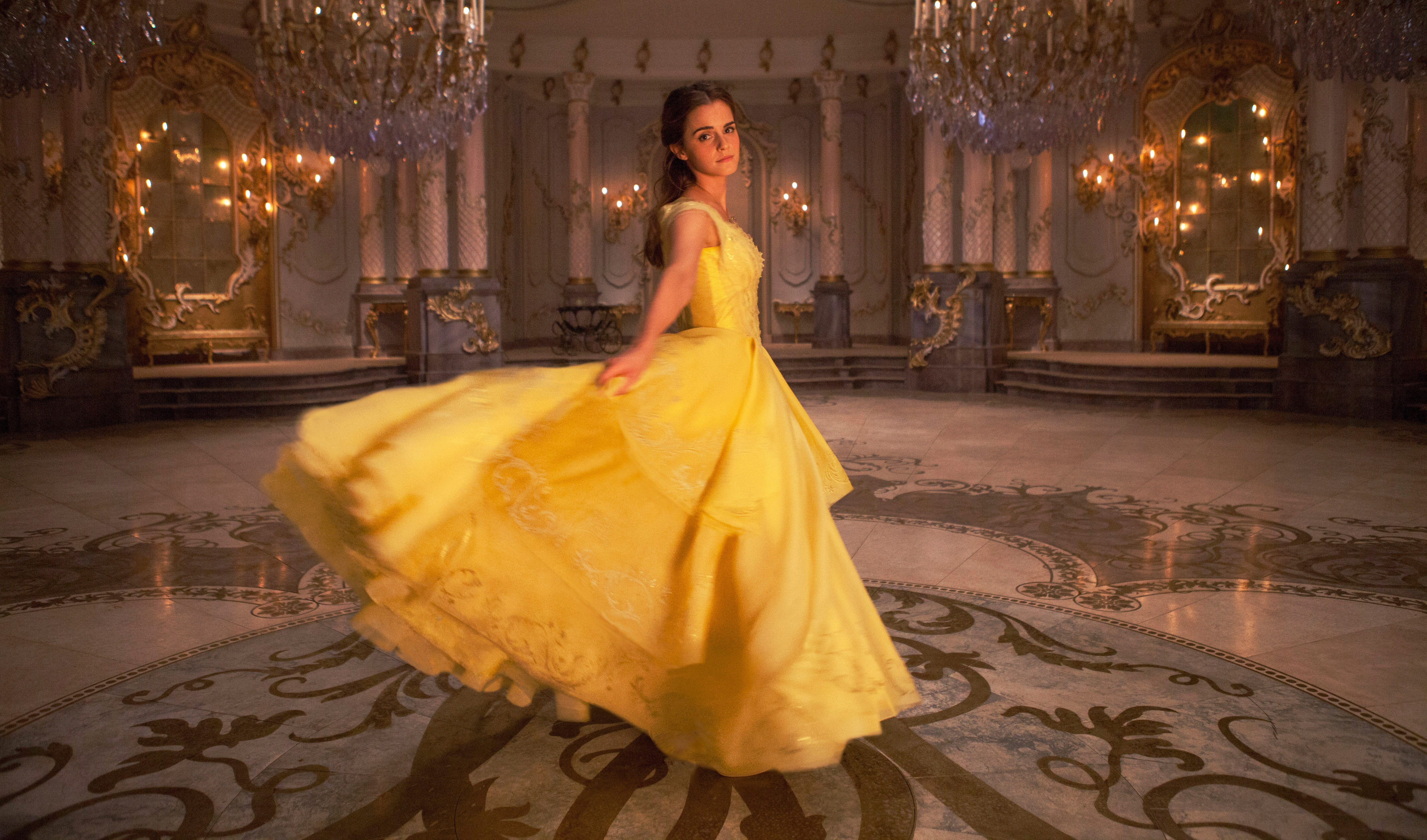 Watch Full Final Trailer From Live Action Beauty And The Beast Film Playbill