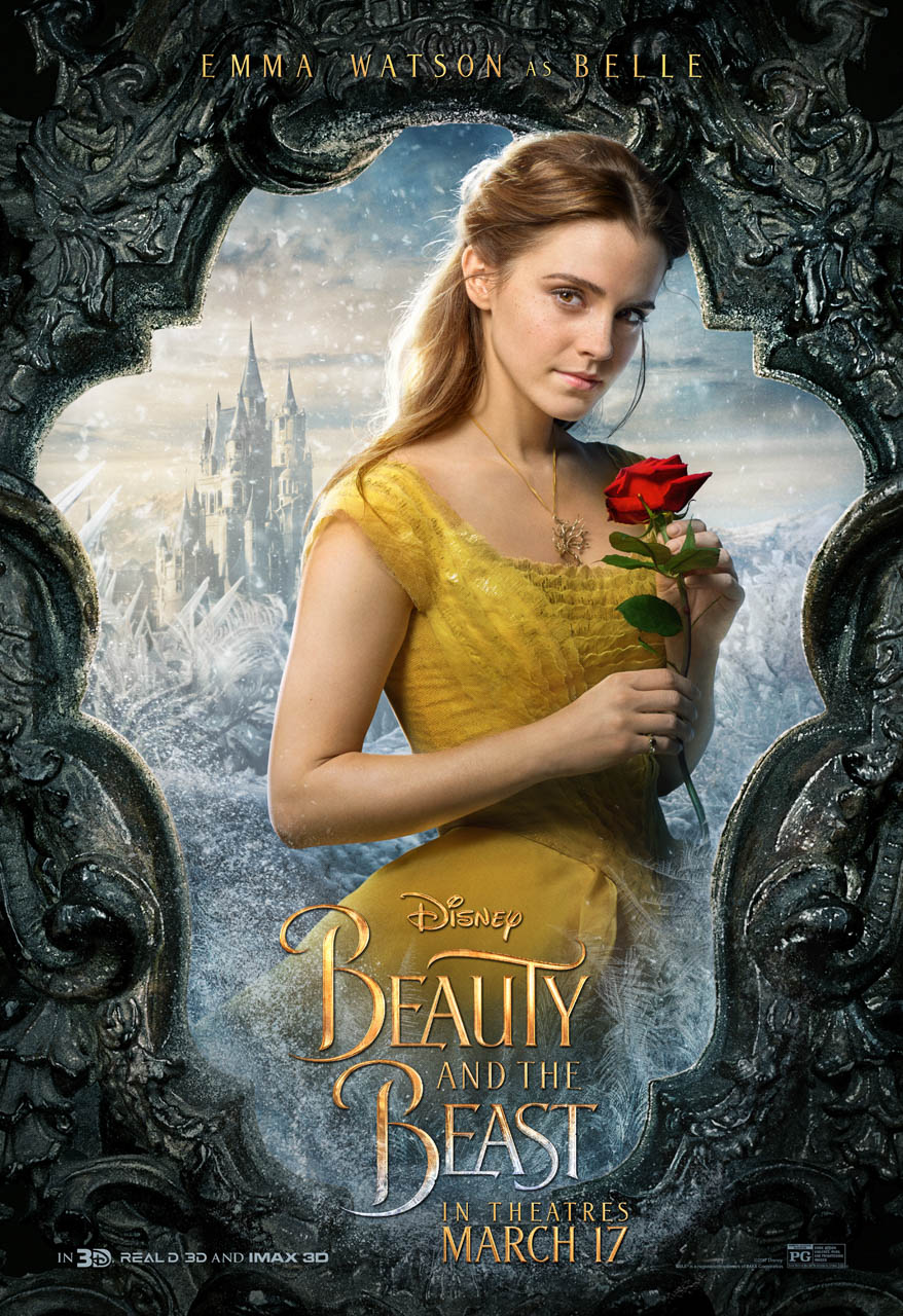 Disney Reveals First Look at Beauty and the Beast Character Posters |  Playbill