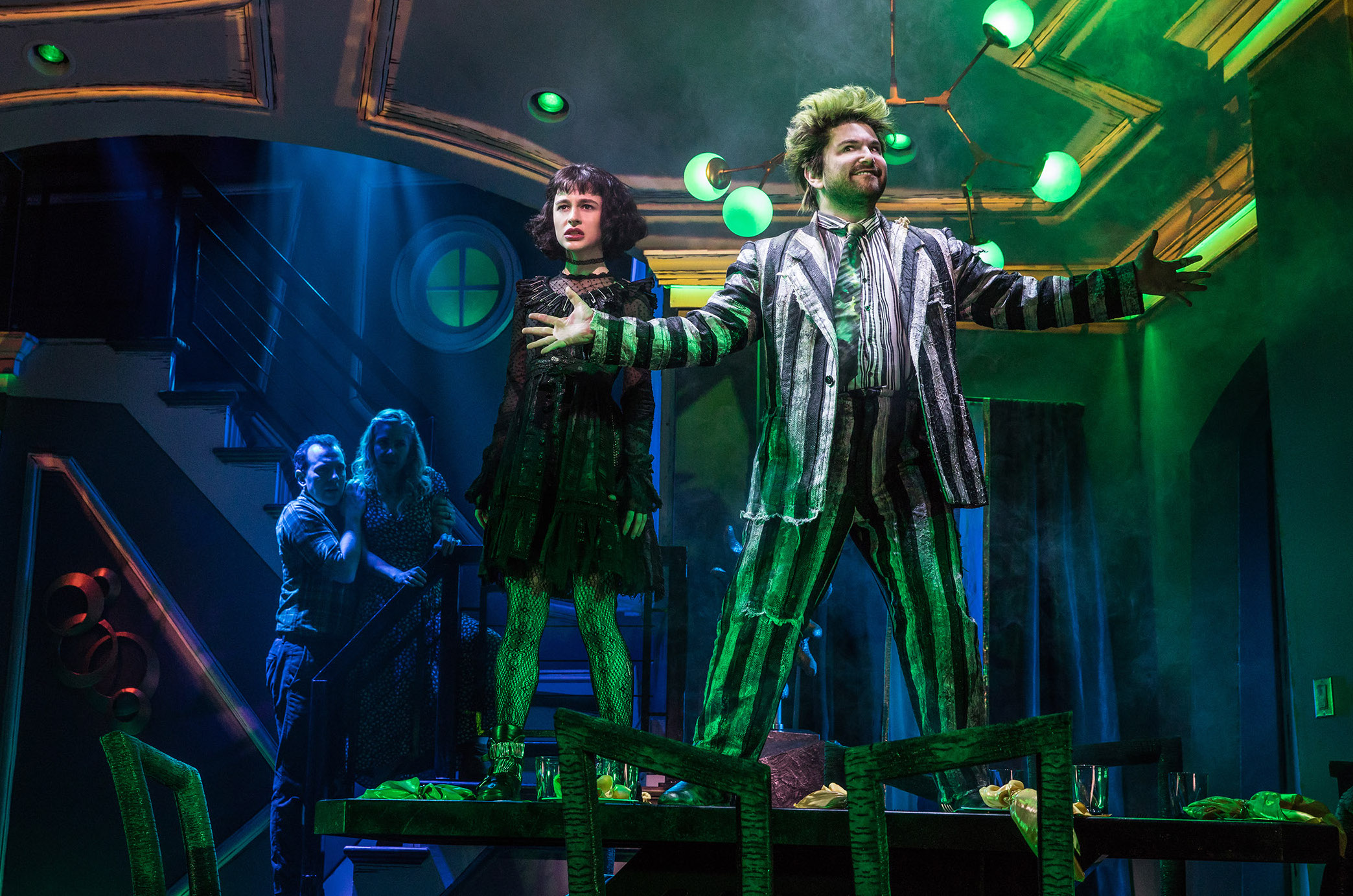Cast Album For Tony Nominated Beetlejuice Musical Now Available Playbill