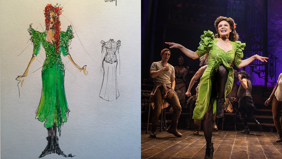 How Michael Krass Used Fashion To Make Hadestown S Players Into Singular Characters Playbill