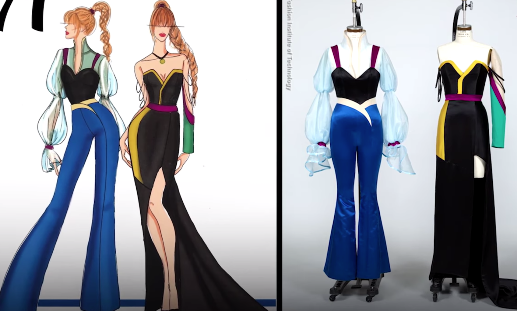 Watch Disney On Broadway Characters Get A Modern Makeover From Fashion Design Students Playbill