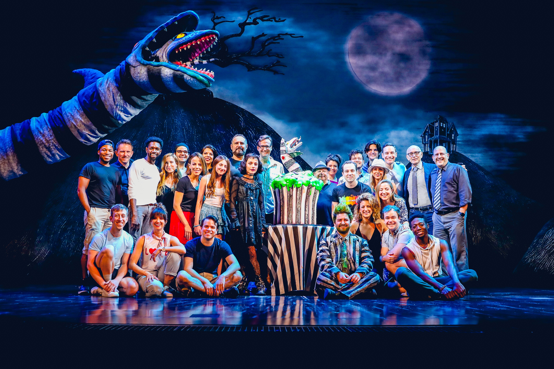 Beetlejuice Celebrates 100 Performances On Broadway Playbill