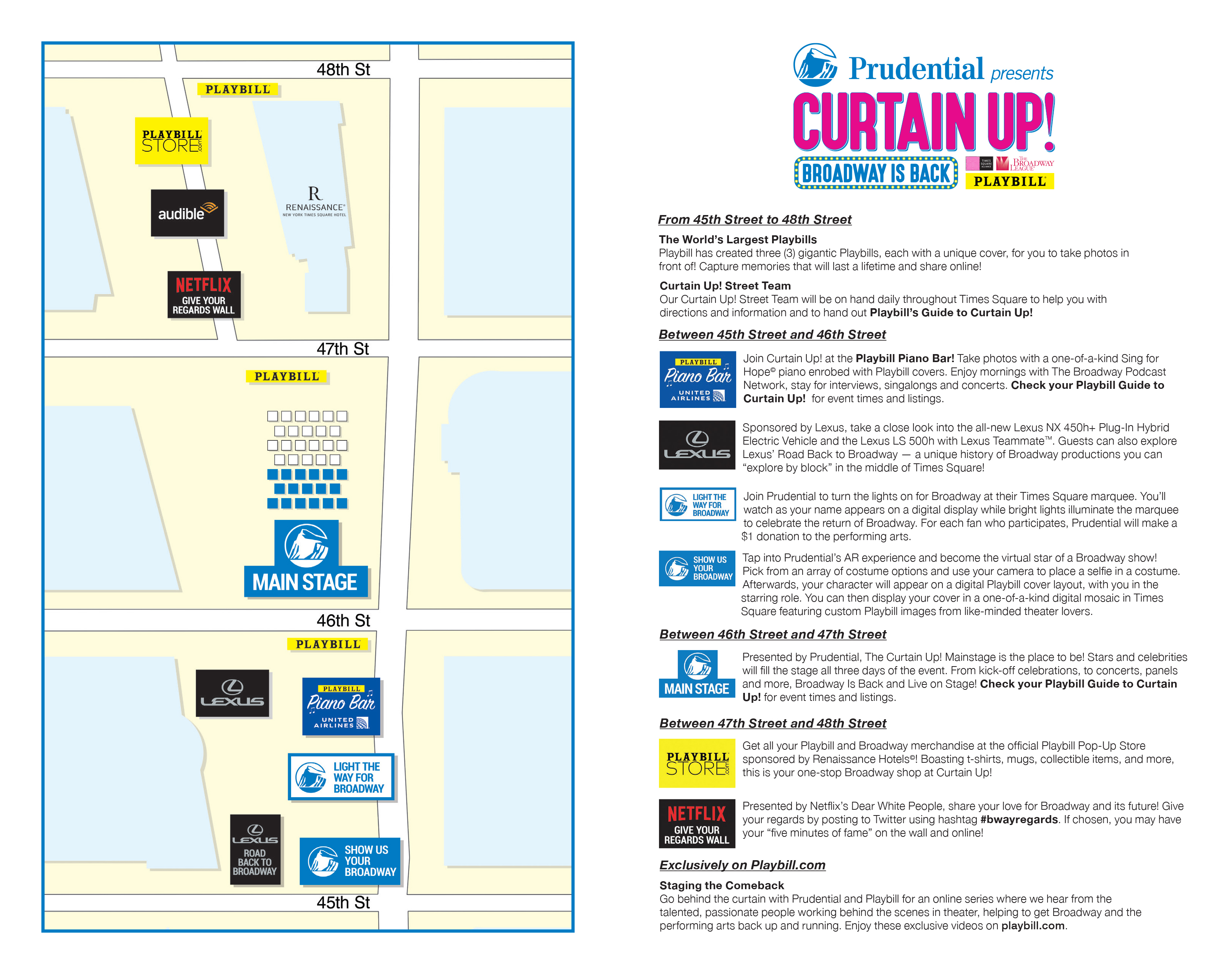 Curtain Up Map