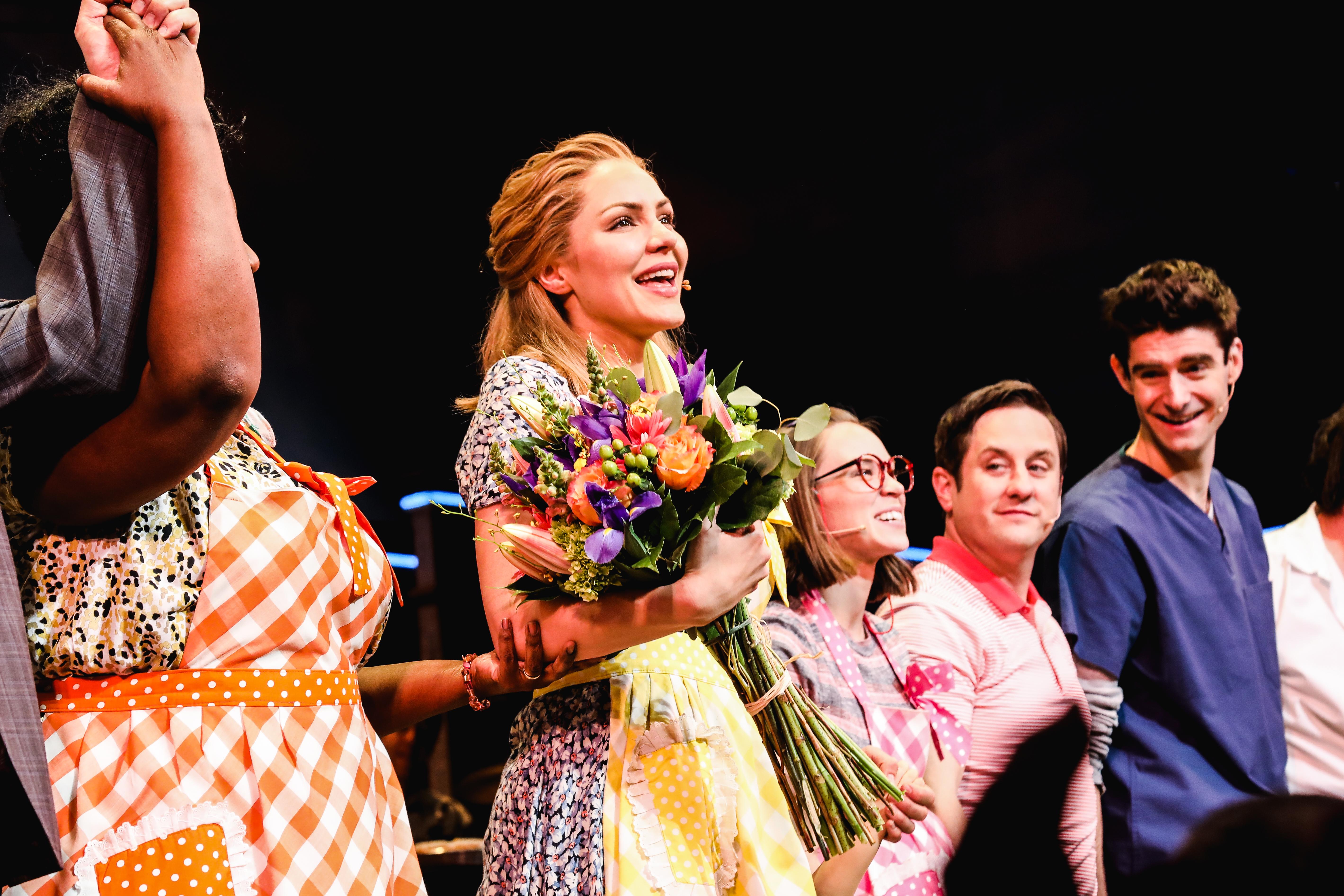 See Katharine Mcphee Make Her Broadway Debut In Waitress Playbill