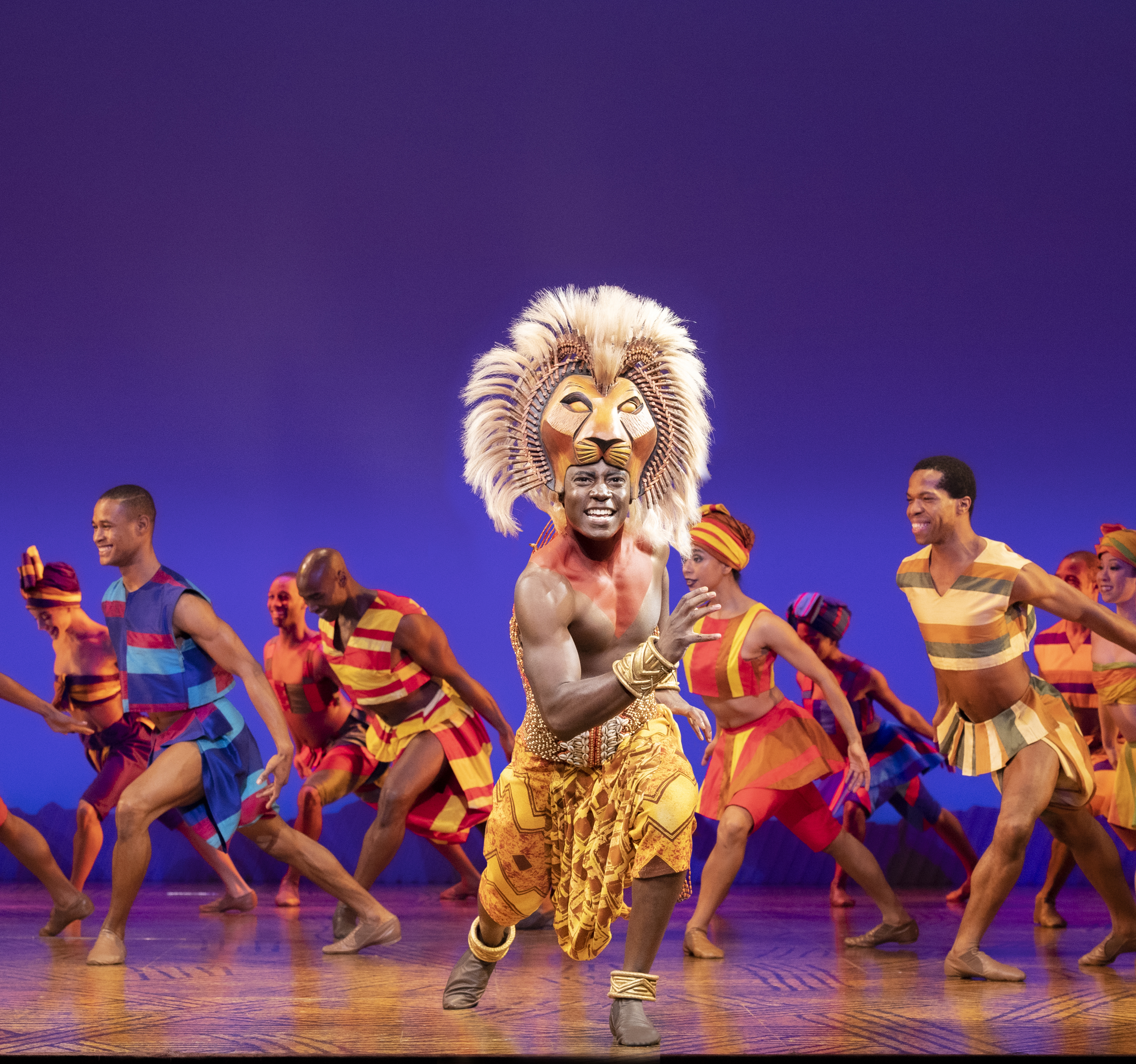 First Look At The Lion King S New Touring Cast Playbill