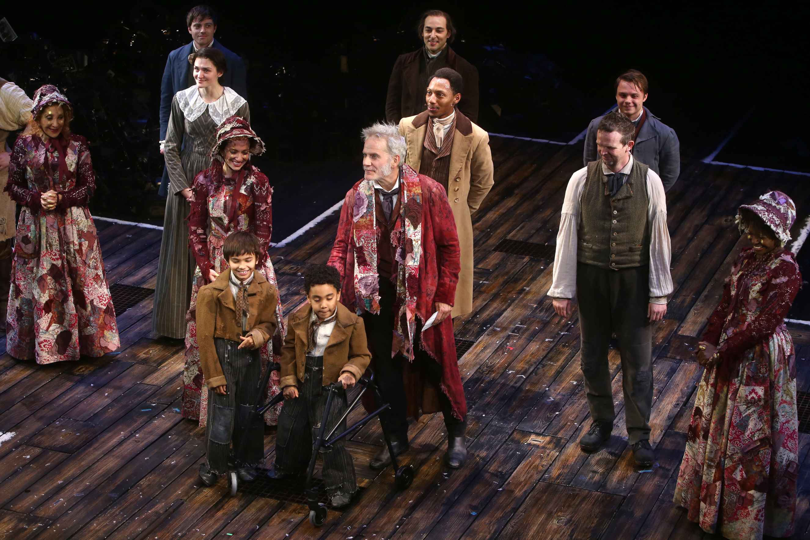 Playbill From A Christmas Carol At Players Theater Nyc 2020 Go Inside Opening Night for Broadway's A Christmas Carol, Starring